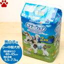 【30】 ユニチャーム 犬用おむつ マナーウェア 男の子用 小型犬〜中型犬用 Mサイズ 42枚入り