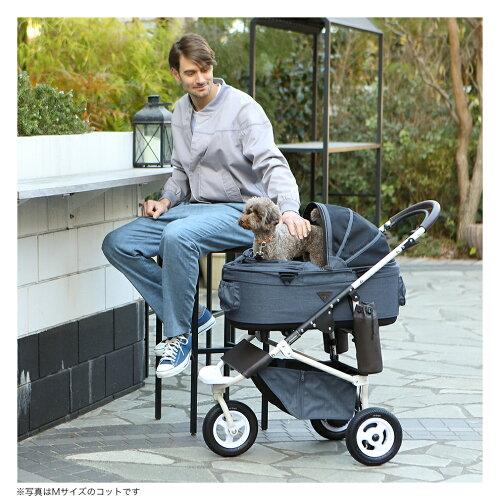 エアバギーフォードッグ・ドーム2ブレーキモデルEARTHseries[アースシリーズ]SMセット[犬耐荷重10kgカート避難防災キャンプペットカートドッグカート多頭飼い