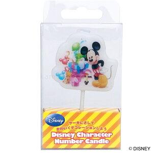 kameyama candle カメヤマ ディズニーキャラクターナンバーキャンドル「ミッキー」