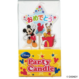 kameyama candle カメヤマ ディズニー ディズニーパーティーキャンドル ケーキ用キャンドル「ミッキー」