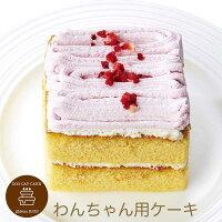 コミフベリーと豆乳のモンブランペットケーキ誕生日ケーキバースデーケーキ犬用ワンちゃん用