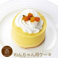 コミフかぼちゃの豆乳ムースペットケーキ誕生日ケーキバースデーケーキ犬用ワンちゃん用