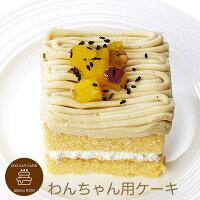 コミフさつまいもと豆乳のモンブランペットケーキ誕生日ケーキバースデーケーキ犬用ワンちゃん用