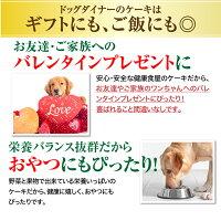 【無添加】犬用バレンタインケーキ(ヴァレンタインリースケーキ)