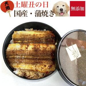 【令和2年・2020年】犬用 土曜丑の日・蒲焼き(無添加・天然)犬の手作りご飯