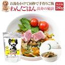 犬・手作りご飯(ドッグフード わんごはん 長寿の秘訣 280g)無添加 国産 高齢犬・シニア【通常便 送料無料】
