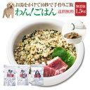 犬・手作りごはん(ドッグフード わんごはん 1.5kg)無添加 国産 無農薬【通常便 送料無料】