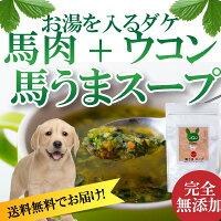 犬・ペット用(馬うまスープ)無添加粉末手作りご飯【送料無料】