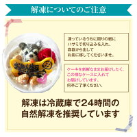 犬・無添加・誕生日・ケーキ(クリスマス)