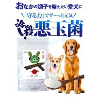 犬・猫用無添加サプリ(必殺悪玉菌)乳酸菌で腸の健康をサポート【メール便送料無料】