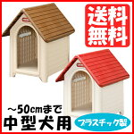 プラスチック製犬小屋