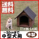 ログ犬舎 LGK-750 (体高約50cmまで) 送料無料 中型犬 犬小屋 ハウス 犬舎 屋外 室外 野外 木製 ペット用品 アイリスオーヤマ ドッグパーク 楽天 犬の日