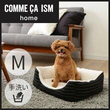 COMMECAISMペットベッドスクエアベッドCOM-SBMMサイズアイリスオーヤマ