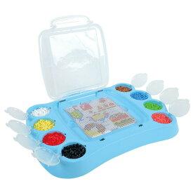 どこでもパーラービーズセット おもちゃ 知育玩具 アイロンビーズ ハンドメイド きれい 知育玩具 12歳以上 アイロンがけ かわいい Kawada カワダ【拡】