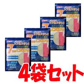 トフカスサンド7L×4袋セット[猫砂・ネコ砂・トイレタリー用品・トイレ用品][LP]
