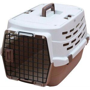 ペットキャリー ホワイト/ベージュ Mサイズ UPC-580 ペット用 犬用 いぬ イヌ 猫用 ねこ ネコ キャリーバッグ キャリーケース コンテナ プラスチック製 アイリスオーヤマ