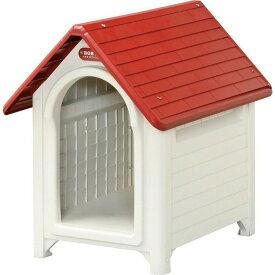 ボブハウス M ドア無し (体高28cmまで) 小型犬 犬舎 犬小屋 プラスティック製 ハウス おうち 屋外 野外 室外 アイリスオーヤマ ドッグパーク