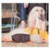 供狗使用的papiapotaburufudoboruuotaboru·托盤四角型折疊型水杯TREK SQUARE PORTABLE BOWL PUPPIA寵物狗