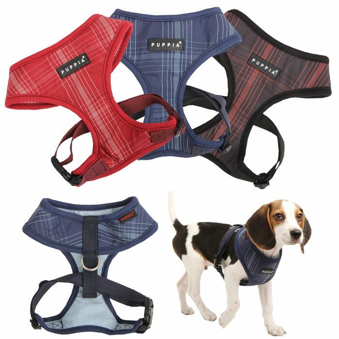 半額以下!簡単装着 胴輪 胴囲ジャストフィットハーネス!サイバースペースソフトハーネスA:S,M,Lサイズ PUPPIA パピア ペット 犬 犬用 ドッグ pana-ac129