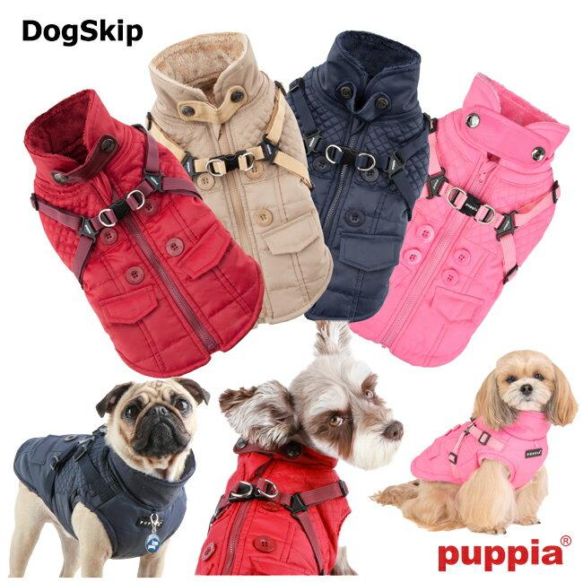 犬用 ウィルクスハーネスジャンパー WILKES:S,M,Lサイズ PUPPIA パピア 胴輪 犬 ペット ドッグ 洋服 ダウン 送料無料 hvt