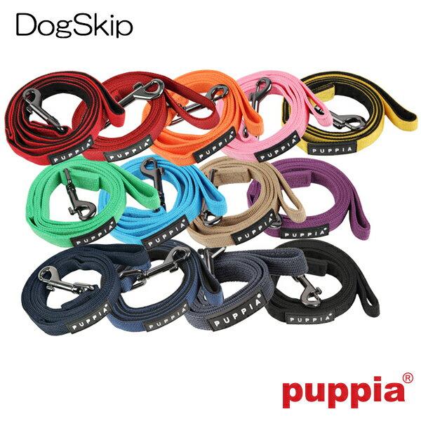 トゥートーンリード PUPPIA パピア 豊富なカラーバリエーション!ペット ペットグッズ 犬用品 リード ナイロン 小型犬用