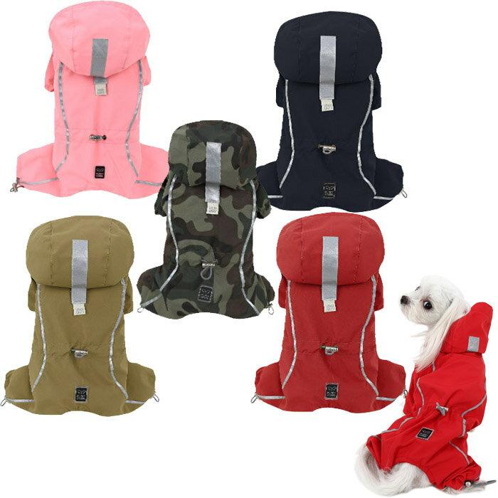 PAアーバンアウトドアレインコート S,SM,M,ML,L,XLサイズ Puppy Angel BIONNE Urban Outdoor Bodysuit Raincoat 送料無料 パピーエンジェル 犬 犬用 ペット ドッグ