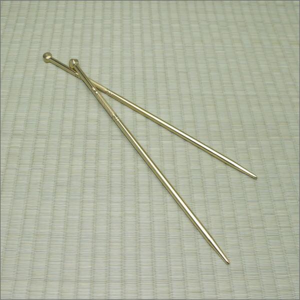 真鍮火箸 250mmX太さ5.5mm 日本製【クリックポスト配送対象商品】クリックポストご希望の場合は、配送方法をメール便に変更して下さい。