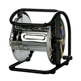 【マッハ】高圧用・ステンレスC型空ドラム《HPD-500C-S》※内径φ5.0mm用・エアホース30m巻可能「エアーホース」