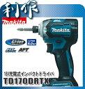マキタ 充電式インパクトドライバ [ TD170DRTX ] 18V(5.0Ah)セット品(青)
