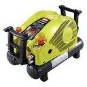 ◎マックス エアコンプレッサー [ AK-HH1270E2 (リーフイエロー) ] 高圧/高圧 11L45気圧 限定色