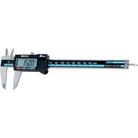 【シンワ測定】 デジタル ノギス 大文字 150mm ホールド機能付 《 19975 》
