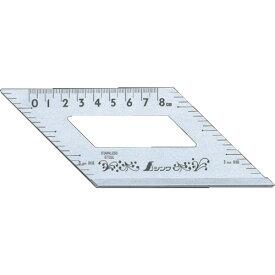 【シンワ測定】止型定規 目盛付《62060》