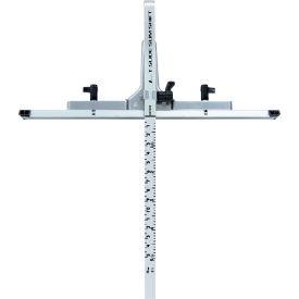 シンワ測定 丸ノコガイド定規 Tスライド スリムシフト [ 73312 ] 15cm併用目盛