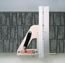 【シンワ測定】エルアングル 450mm取手・補助板付《77899》[丸ノコカッター]