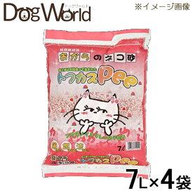ペグテック トフカスPee 7L×4袋 [猫砂セット販売] [同梱不可] [送料無料]