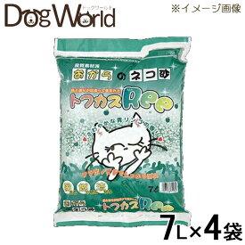 ペグテック トフカスRee 7L×4袋 [猫砂セット販売] [同梱不可] [送料無料]