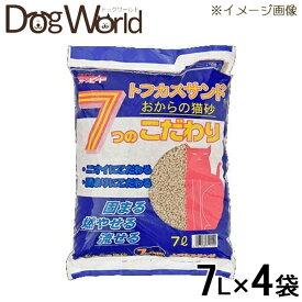 ペグテック トフカスサンド 7L×4袋 [猫砂セット販売] [同梱不可] [送料無料]