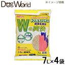 ペグテック トフカスパイン 7L×4袋 [猫砂セット販売] [同梱不可] [送料無料]