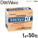 森乳サンワールド ラクトフェリDX 1g×50包 【犬猫用健康補助食品】