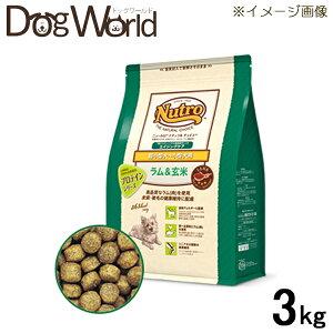 ナチュラルチョイスラム&玄米超小型犬〜小型犬用エイジングケア3kg