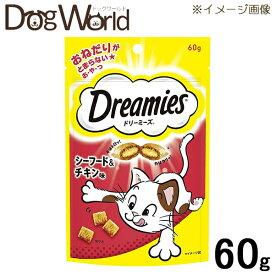 ドリーミーズ シーフード&チキン味 60g