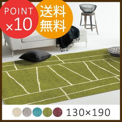 ジオーニ130×190cm2397-113プレーベルひんやり涼感夏ファンクションカーペット