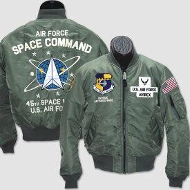 """アビレックス AVIREX ミリタリーMA-1リバーシブルフライトジャケット """"TYPE MA-1 SPACE COMMAND FLIGHT JACKET"""" 6182184"""