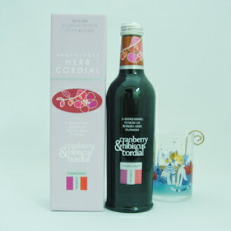 Thorncroft, herb cordial Cranberry & hibiscus 02P25Jun09