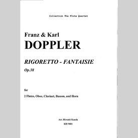 【楽譜】ドップラー/リゴレット・ファンタジー/木管アンサンブル/神田寛明アレンジ楽譜