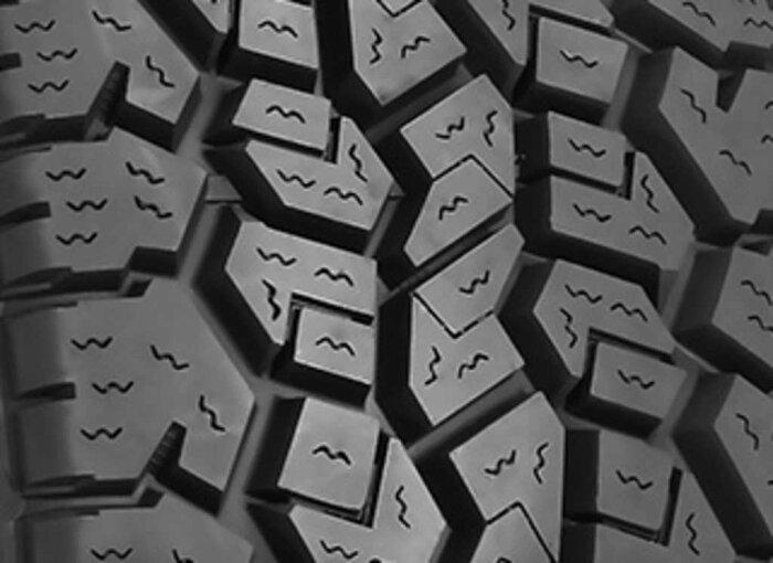 【DICKCEPEK(ディックシーペック)日本正規輸入総代理店】タイヤ5本TRAILCOUNTRY(トレイルカントリー)サイズ:255/65R17110Tホワイトレターラジアルオールテレーン