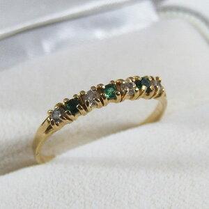 アンティーク リング 指輪 ダイアモンド エメラルド イギリス ジュエリー アクセサリー 贈り物 母の日 ギフト プレゼント 18K 誕生日 ホワイトデー パワーストーン 敬老の日