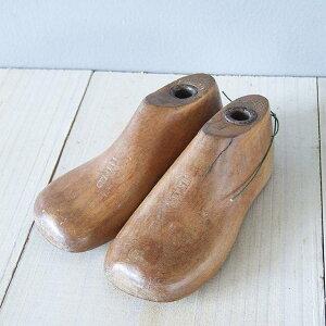 アンティーク 靴型 イギリス 木型 子供サイズ シューモールド インテリア ペン立て ディスプレイ シューズ 子供の日 プレゼント