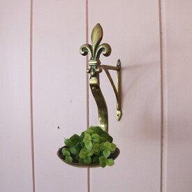 アンティーク キャンドルホルダー 壁掛け 壁面 ブラケット付き フランス ディスプレイ インテリア 母の日 プレゼント