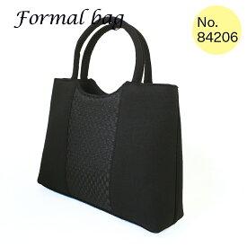 \送料無料/\お買い得/Silvia Rossini シルビアロッシーニ ブラックフォーマルバッグ HAND FORMALハンドフォーマルバッグ 布製 84206